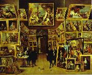 David Teniers Archduke Leopold William in his Gallery in Brussels oil painting artist