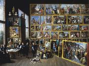 David Teniers Archduke Leopold William in his Gallery in Brussels-p oil painting artist