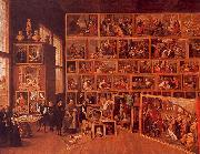 David Teniers The Archduke Leopold's Gallery oil painting artist
