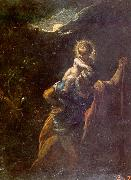 Adam  Elsheimer St.Christopher oil painting picture wholesale