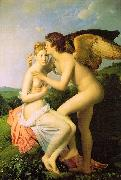 Baron Francois  Gerard Amor and Psyche oil painting