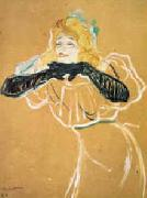Henri  Toulouse-Lautrec Yvette Guilbert oil painting picture wholesale