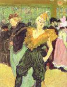 Henri  Toulouse-Lautrec Clowness Cha-u-Kao oil painting picture wholesale