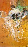 Henri  Toulouse-Lautrec Woman in a Corset  Woman in a Corset  -y oil painting picture wholesale