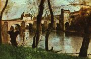 Jean Baptiste Camille  Corot The Bridge at Nantes oil painting picture wholesale
