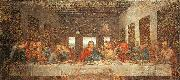 Leonardo  Da Vinci The Last Supper-l oil painting