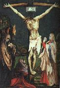 Matthias  Grunewald The Small Crucifixion oil painting artist