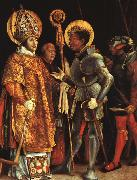 Matthias  Grunewald The Disputation of St.Erasmus and St.Maurice oil painting picture wholesale