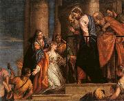 Paolo  Veronese Christ and the Woman with the Issue of Blood oil painting picture wholesale