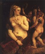 Titian Venus with a Mirror oil painting picture wholesale
