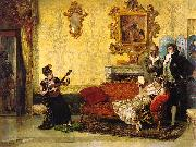 Vicente Palmaroli  Gonzalez The Concert oil painting