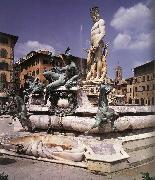 AMMANATI, Bartolomeo Fountain of Neptune oil painting