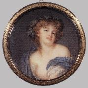 AUGUSTIN, Jacques-Jean-Baptiste A Bacchante oil painting reproduction