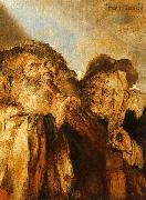 Adriaen Pietersz Vande Venne Beggars Playing Pipes and a Hurdy Gurdy oil painting picture wholesale