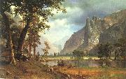 Albert Bierstadt Yosemite Valley oil painting reproduction