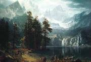 Albert Bierstadt Sierra Nevadas oil painting picture wholesale