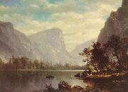 Albert Bierstadt Mirror Lake, Yosemite Valley oil painting picture wholesale