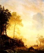 Albert Bierstadt Merced River in Yosemite oil painting picture wholesale