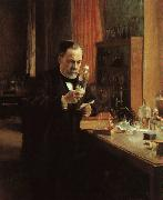 Albert Edelfelt Portrait of Louis Pasteur oil