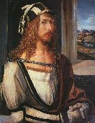 Albrecht Durer Self Portrait with Gloves oil
