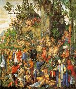 Albrecht Durer Martyrdom of the Ten Thousand oil painting picture wholesale