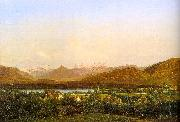 Alexandre Calame View of Geneva from Petit-Saconnex France oil painting reproduction