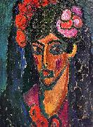 Alexei Jawlensky Spanish Woman oil