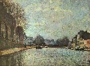 Alfred Sisley The St.Martin Canal oil painting picture wholesale