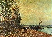 Alfred Sisley The Tugboat oil painting picture wholesale