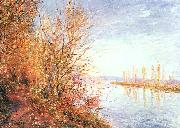 Alfred Sisley St.Martin's Summer oil painting picture wholesale