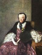 Allan Ramsay Mrs Martin oil painting picture wholesale