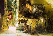 Alma Tadema Welcome Footsteps oil painting