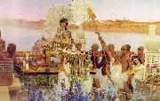 Alma Tadema The Finding of Moses oil painting