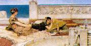 Alma Tadema Love's Votaries oil painting picture wholesale