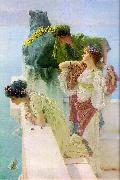 Alma Tadema Advantageous Position oil painting