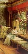 Alma Tadema Vain Courtship oil painting