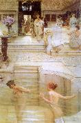 Alma Tadema A Favorite Custom oil painting picture wholesale