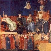 Ambrogio Lorenzetti Allegory of Good Government oil