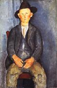 Amedeo Modigliani The Little Peasant oil painting picture wholesale
