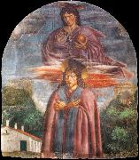 Andrea del Castagno St Julian and the Redeemer oil painting artist