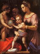 Andrea del Sarto The Holy Family with the Infant St.John oil painting artist
