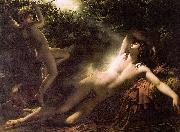 Anne-Louis Girodet-Trioson Endymion Asleep oil