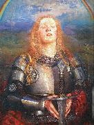 Annie Louise Swynnerton Joan of Arc oil