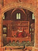 Antonello da Messina St.Jerome in his Study oil