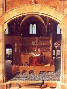 Antonello da Messina Saint Jerome in his Study oil painting picture wholesale
