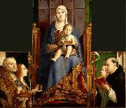 Antonello da Messina San Cassiano Altar oil painting picture wholesale