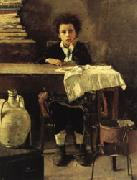 Antonio Mancini The Poor Schoolboy oil painting picture wholesale