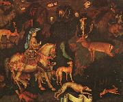 Antonio Pisanello The Vision of St.Eustace oil painting