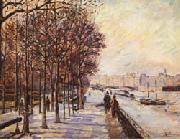 Armand Guillaumin Quai de la Gare oil painting picture wholesale