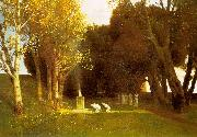 Arnold Bocklin The Sacred Wood France oil painting reproduction